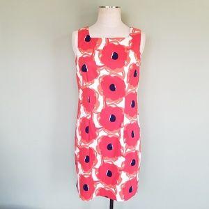 Dressbarn Floral Poppy Sheath Dress